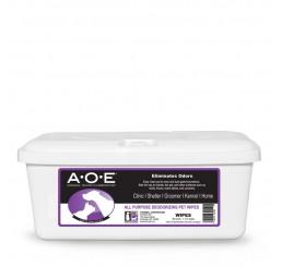 Servetele umede, neutralizante de miros provenit de la animale - A.O.E. WIPES