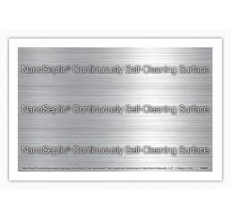 NanoSeptic - FOLIE autocurățare pentru MÂNER MIC de UȘĂ, cu protecție împotriva germenilor și virusurilor; 7.62 cm x 10.16 cm